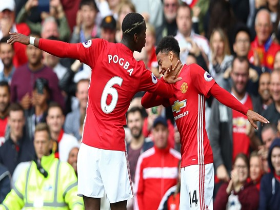 Betting tips for Manchester United vs Everton - 17.09.2017